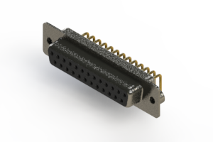 622-M25-360-BN2 - EDAC | Right Angle D-Sub Connector