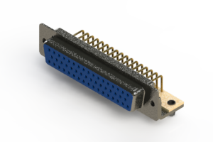 622-M50-360-LT3 - EDAC | Right Angle D-Sub Connector