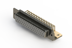 622-M50-360-WN4 - EDAC | Right Angle D-Sub Connector