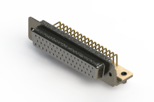 622-M50-360-WT3 - EDAC | Right Angle D-Sub Connector