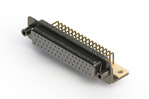 622-M50-360-WT6 - EDAC | Right Angle D-Sub Connector