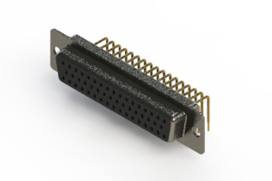 622-M50-660-BN1 - EDAC | Right Angle D-Sub Connector