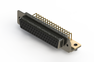 622-M50-660-BN3 - EDAC | Right Angle D-Sub Connector