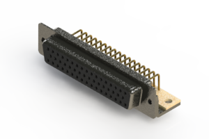 622-M50-660-BT4 - EDAC | Right Angle D-Sub Connector
