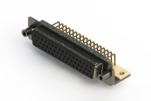 622-M50-660-BT6 - EDAC | Right Angle D-Sub Connector
