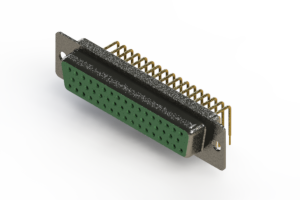 622-M50-660-GN1 - EDAC | Right Angle D-Sub Connector