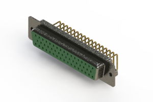 622-M50-660-GN2 - EDAC | Right Angle D-Sub Connector