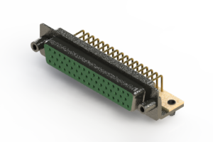 622-M50-660-GN5 - EDAC | Right Angle D-Sub Connector