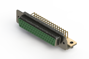 622-M50-660-GT3 - EDAC | Right Angle D-Sub Connector
