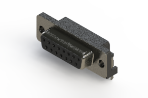 624-015-261-031 - Right Angle D-Sub Connector