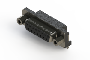 624-015-261-033 - Right Angle D-Sub Connector