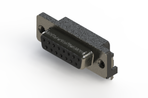 624-015-261-035 - Right Angle D-Sub Connector