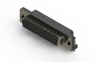624-025-261-032 - Right Angle D-Sub Connector