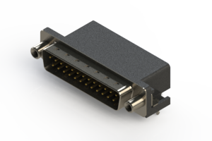 625-025-662-030 - Right Angle D-Sub Connector