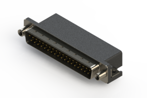 625-037-262-010 - Right Angle D-Sub Connector