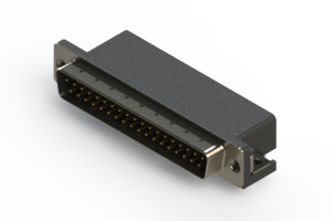 625-037-262-015 - Right Angle D-Sub Connector