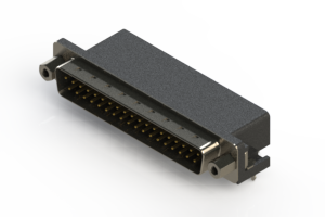 625-037-262-033 - Right Angle D-Sub Connector