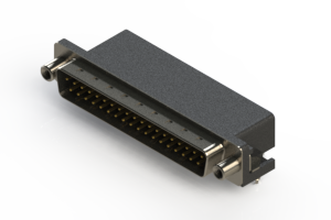 625-037-262-040 - Right Angle D-Sub Connector