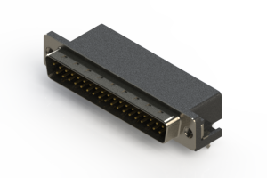 625-037-262-535 - Right Angle D-Sub Connector