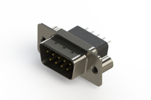 627-009-221-059 - Vertical Metal Body D-Sub Connector