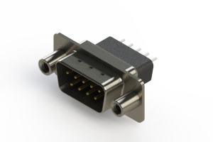 627-009-221-078 - Vertical Metal Body D-Sub Connector