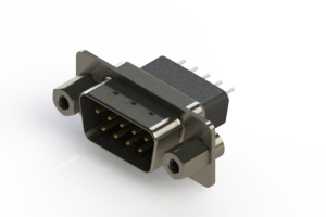 627-009-221-253 - Vertical Metal Body D-Sub Connector
