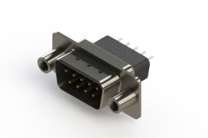 627-009-221-258 - Vertical Metal Body D-Sub Connector