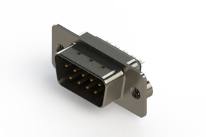 627-009-222-262 - Vertical Metal Body D-Sub Connector