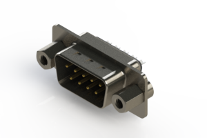 627-009-222-263 - Vertical Metal Body D-Sub Connector