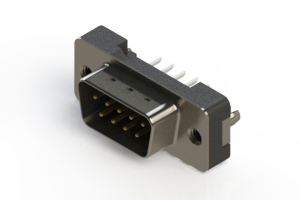 627-009-224-216 - Vertical Plastic Body D-Sub Connector