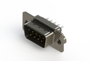 627-009-226-042 - Vertical Metal Body D-Sub Connector