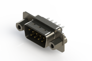 627-009-226-063 - Vertical Metal Body D-Sub Connector
