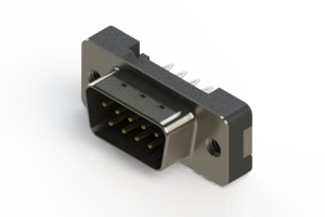 627-009-226-212 - Vertical Plastic Body D-Sub Connector