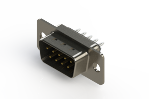 627-009-226-241 - Vertical Metal Body D-Sub Connector