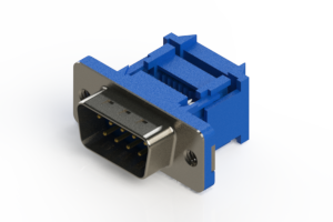 627-009-227-012 - Vertical Plastic Body D-Sub Connector