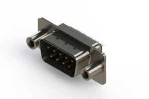 627-009-322-068 - Vertical Metal Body D-Sub Connector