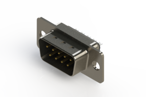 627-009-322-261 - Vertical Metal Body D-Sub Connector