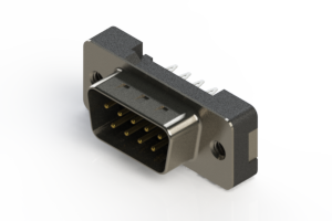627-009-326-212 - Vertical Plastic Body D-Sub Connector