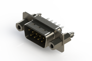 627-009-326-247 - Vertical Metal Body D-Sub Connector
