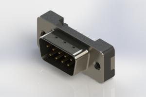 627-009-620-212 - Vertical Plastic Body D-Sub Connector