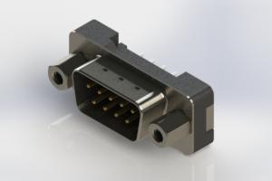 627-009-620-213 - Vertical Plastic Body D-Sub Connector