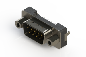 627-009-620-217 - Vertical Plastic Body D-Sub Connector