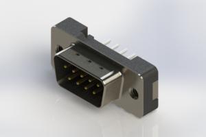 627-009-624-212 - Vertical Plastic Body D-Sub Connector