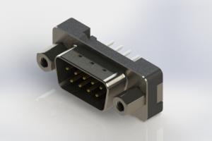 627-009-624-213 - Vertical Plastic Body D-Sub Connector