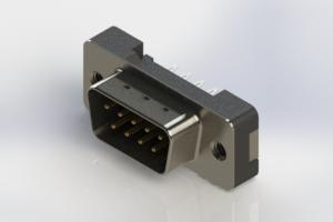 627-009-626-212 - Vertical Plastic Body D-Sub Connector