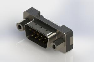 627-009-626-213 - Vertical Plastic Body D-Sub Connector