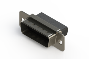 627-015-010-051 - Vertical Metal Body D-Sub Connector