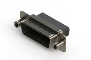 627-015-010-258 - Vertical Metal Body D-Sub Connector