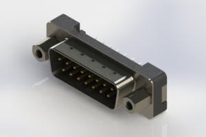 627-015-220-213 - Vertical Plastic Body D-Sub Connector