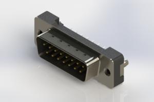 627-015-220-216 - Vertical Plastic Body D-Sub Connector